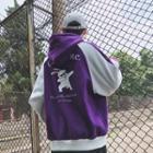 Hood Printed Zip Jacket