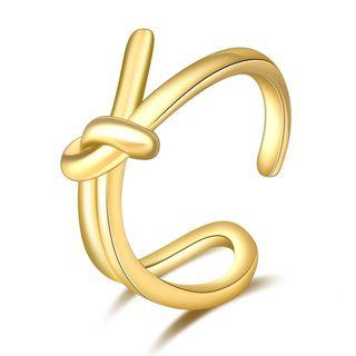 Metal Knot Open Ring