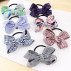 Gingham Bow Hair Band