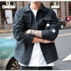 Stitched Panel Jacket