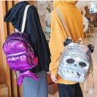 Animal Sequins Zip Backpack