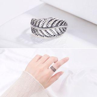 Leaf Open Ring Ring - One Size