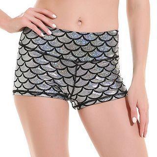 Iridescent Hot Pants