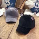 Rhinestone Ear Baseball Cap