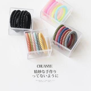 Set: Coil Hair Tie