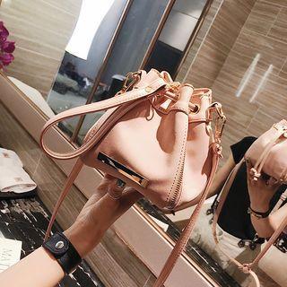 Plain Mini Bucket Bag