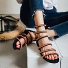Sequin Gladiator Sandals