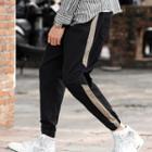 Striped Chino Harem Pants