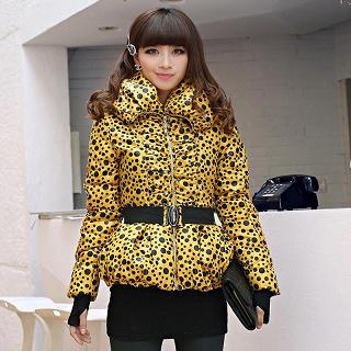 Dotted Padded Jacket