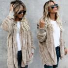 Reversible Fleece Hooded Top