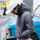 Patch-accent Hooded Jacket