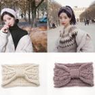 Plain Knit Knot Headband