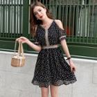 Chiffon Floral Print Dress