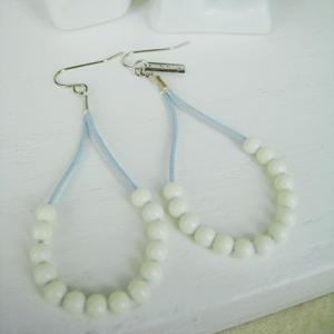 Fresh Bead Earrings(blue)