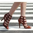 Stiletto-heel Gladiator Sandals