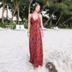 Maxi Beach Cover-up Dress