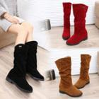 Hidden Wedge Boots