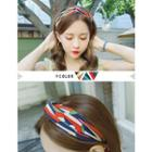 Pattern Knotted Hair Band