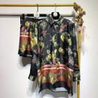 Printed Shirt / Shorts