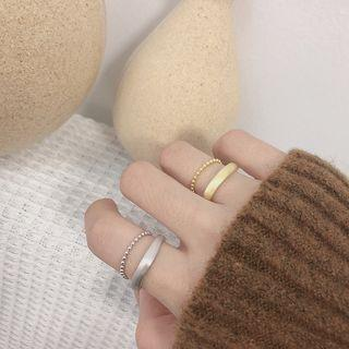 Layered Chained & Open Ring