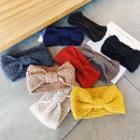 Knit Bow Hair Band