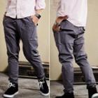 Drawstring-waist Pants