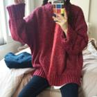 M Lange Boyfriend Sweater