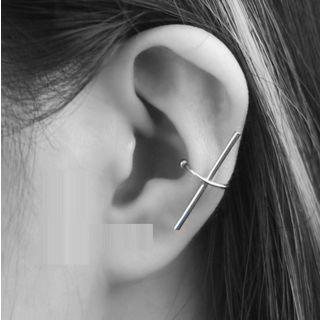 Cross Ear Cuff