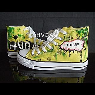 Hvbao High-top Canvas Sneakers