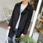 Front Pocket Long Zip Jacket