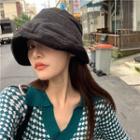 Corduroy Cloche Hat