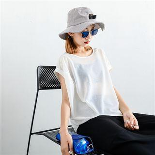 Lightweight Asymmetric Knit Top