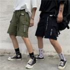 Chinese Character Cargo Shorts