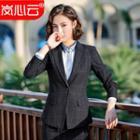 Plaid Blazer / Dress Pants / Pencil Skirt / Shirt / Vest / Set