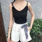 Camisole Top / Wide Leg Shorts