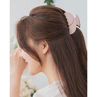 Rhinestone Trim Hair Claw