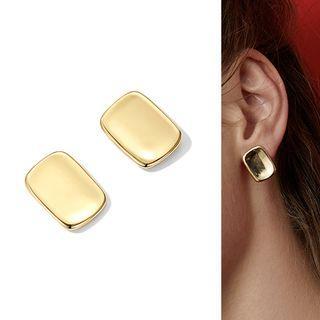Geometry Stud Earring Stud Earring - 1 Pair - Gold - One Size