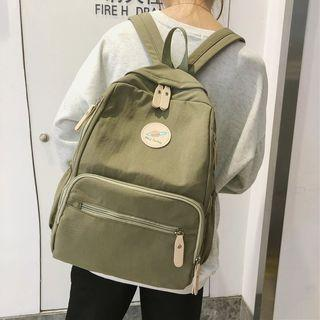 Planet Applique Nylon Backpack