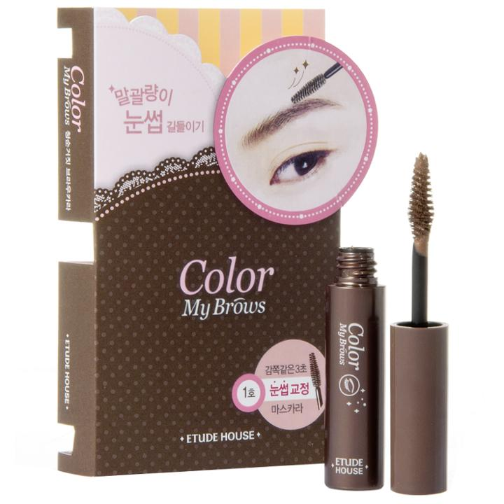 Etude House - Color My Brows (#01 Rich Brown) 4.5g/0.15oz