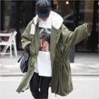 Hooded Fleece-lined Parka