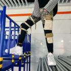 Camo Panel Cargo Pants