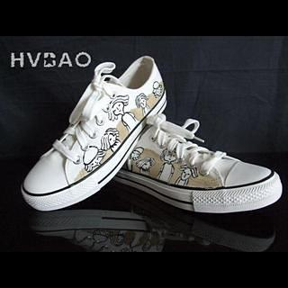 Faces Canvas Sneakers