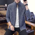 Fleece-lined Knitted Jacket