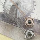 Bead Clover Pendant Necklace