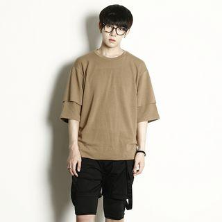Layered Short-sleeve T-shirt