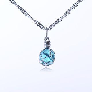 Faux-crystal Necklace