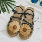 Floral Roman Sandals