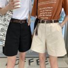 Cargo Wide-leg Shorts