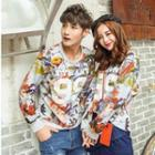 Printed Couple Pullover