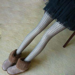 Hollow Out Tights